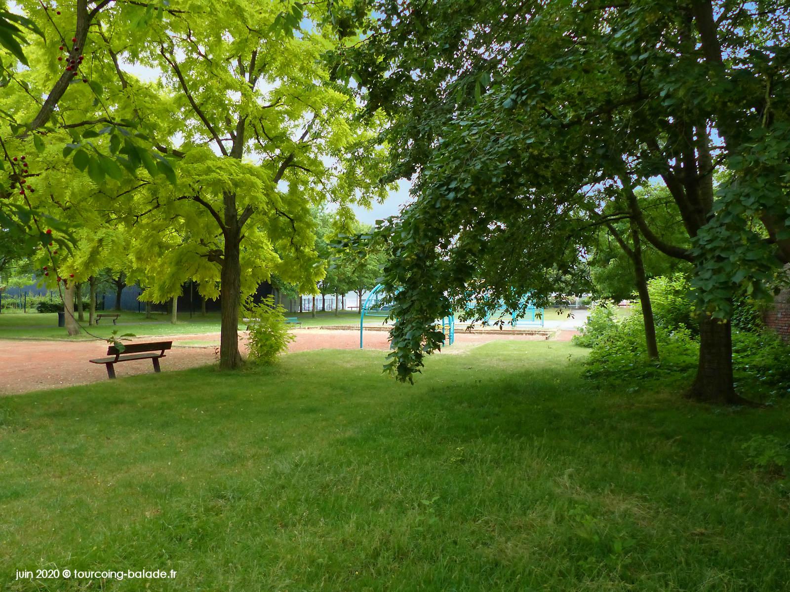 Jardin public des Abeilles, Tourcoing 2020