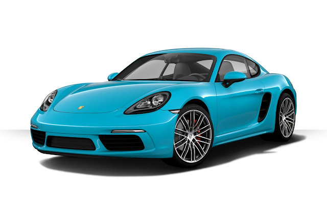porsche 718 cayman 2018 couleurs colors. Black Bedroom Furniture Sets. Home Design Ideas