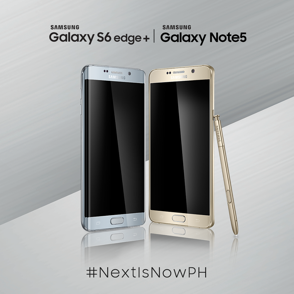 Samsung Galaxy Note5 and Galaxy S6 edge+