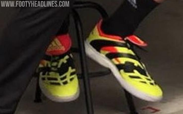 8601b1ba2776 The 1998-2018 Adidas Predator Accelerator Electricity boots are based on  the original one released in 1998 - the Electricity yellow colorway was  actually a ...