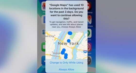 fitur keamanan dan privasi baru di iOS 13