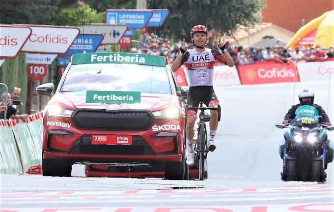Vuelta a España 2021 - 15ª etapa clasificación