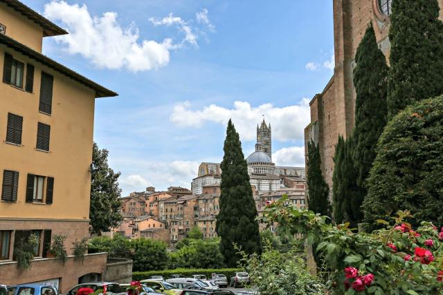 Aussicht Siena | unterwegs Frühstück bei Emma | mit Kindern in der Toskana