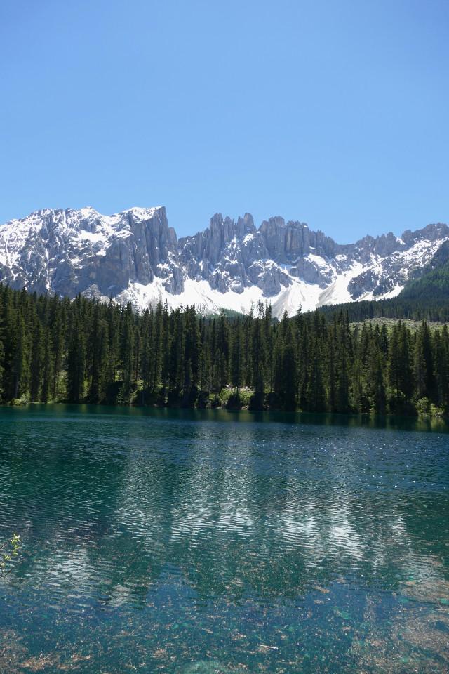 lago di carezza leggenda