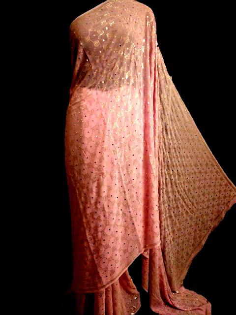 Pink Chikan Saree