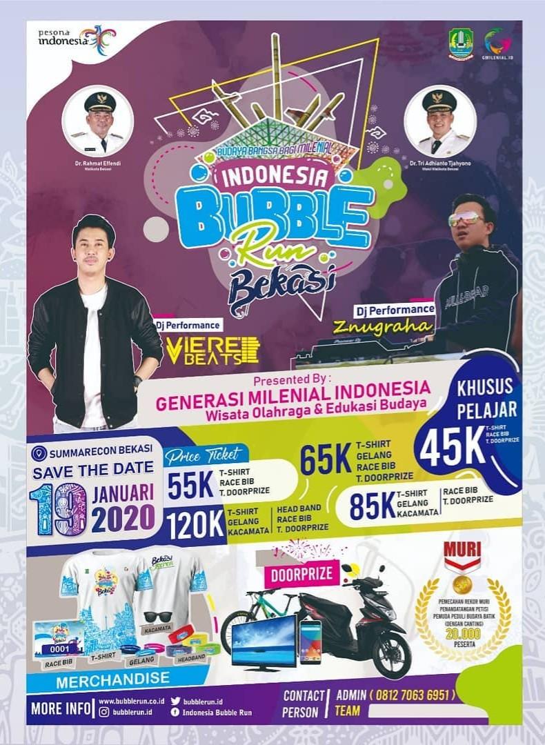 Indonesia Bubble Run - Bekasi • 2020