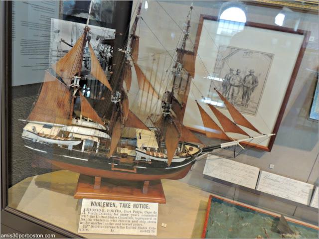 """Exhibición """"Cape Verdean Maritime"""" en el Museo de las Ballenas de New Bedford"""