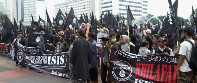 Para Suporter ISIS di Indonesia.