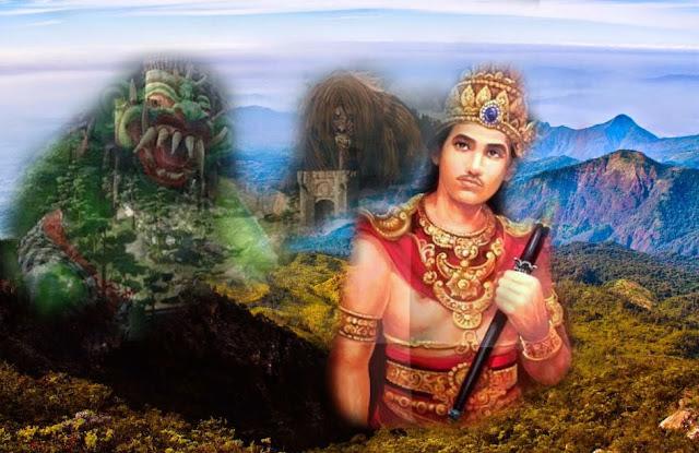 penguasa gaib raja demit jin menghadap brawijaya di gunung lawu