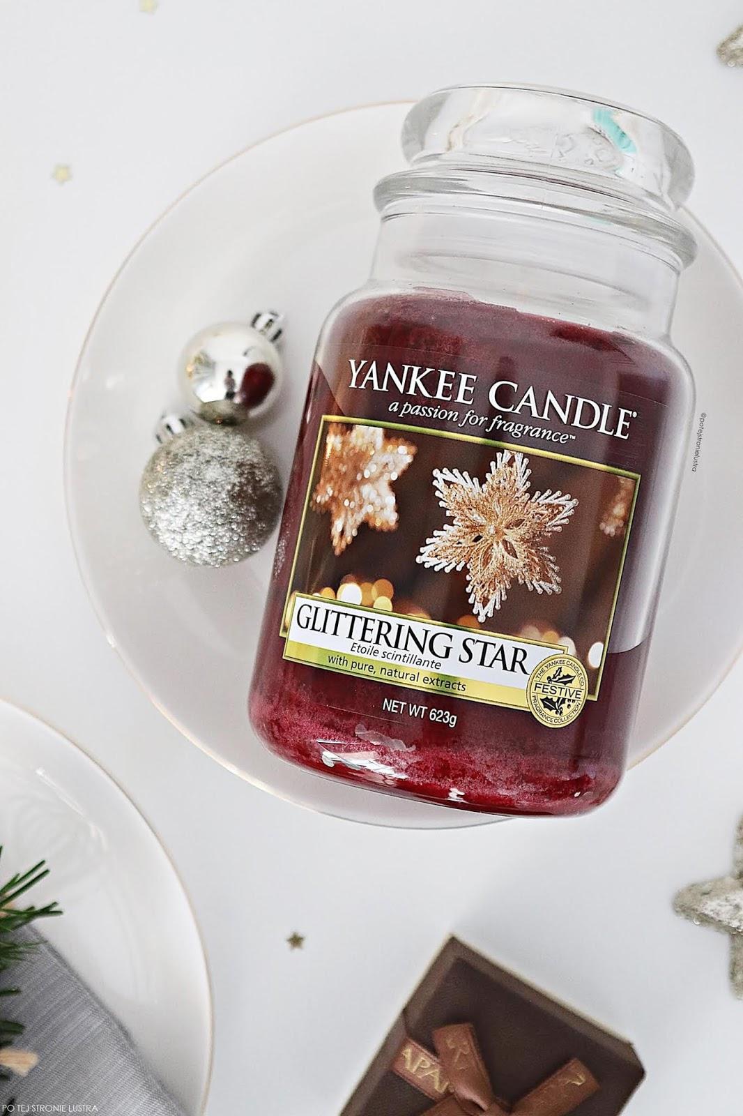 yankee candle glittering star blog recenzja