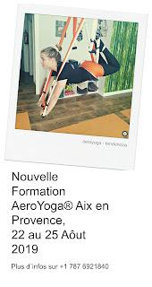 aeroyoga, ayurveda, enseignante, fitness, fly, flying, formation, formation professionnelle, pilates, remise en forme, stage, yoga, yoga aerien, yoga alliance, yoga france