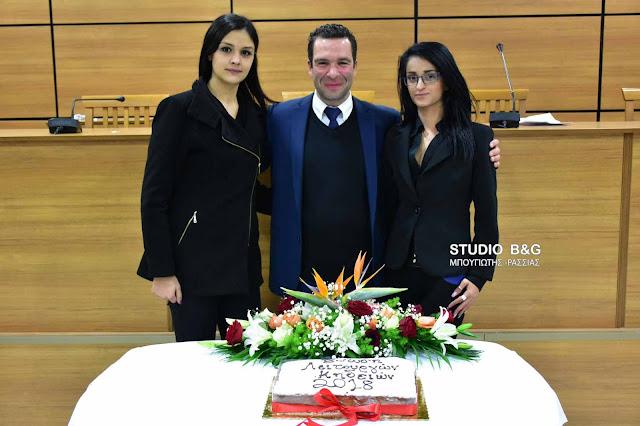Η Ένωση Γραφείων Κηδειών Πελοποννήσου έκοψε βασιλόπιτα και ευχήθηκε καλές δουλειές  (video) DSC 4403PITA