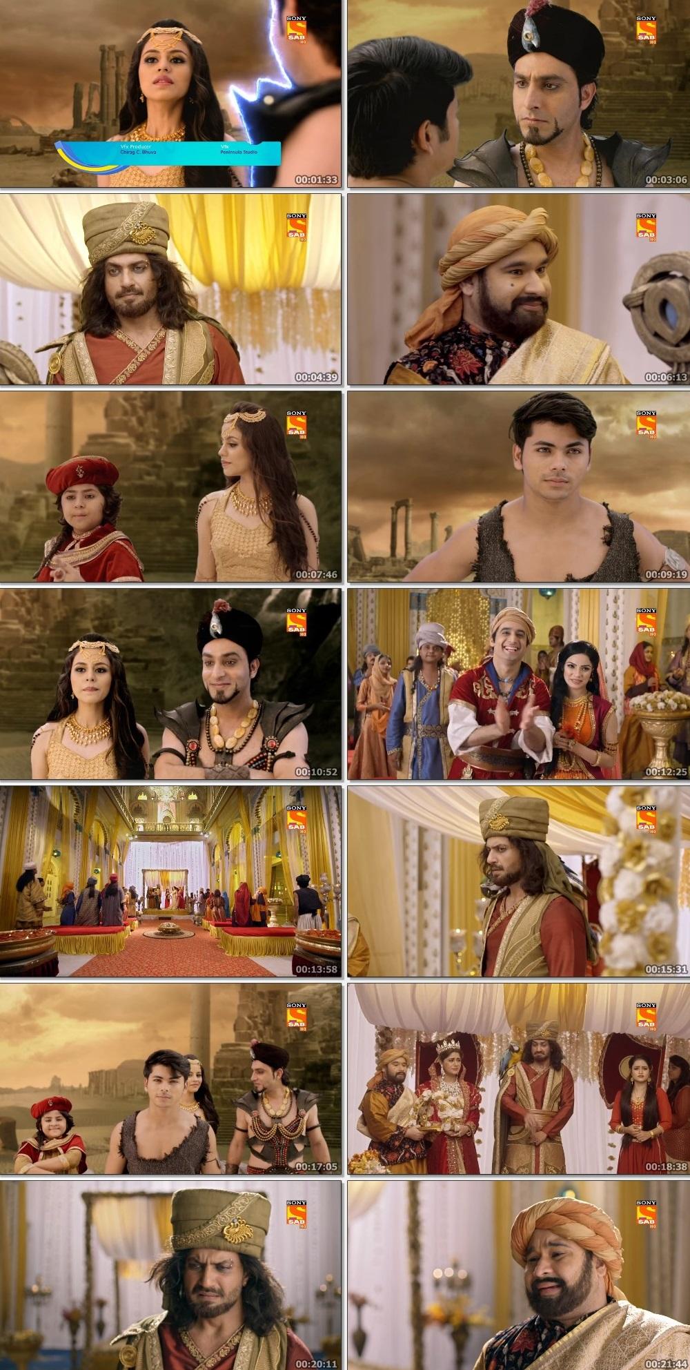 Screenshots Of Hindi Show Aladdin – Naam Toh Suna Hoga 2019 Episode 217 300MB 720P HD