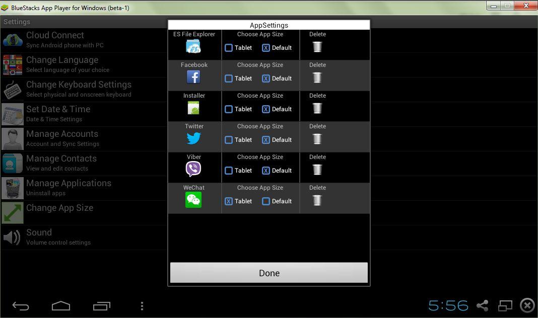 3 steps to Change App Screen Size in Bluestacks version 0 8