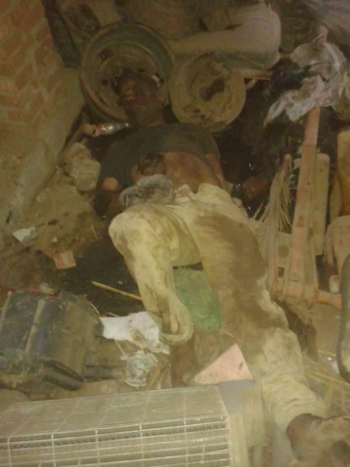 بالصور : علقه موت لحرامى قام بخطف طفل بالبراشيه-محافظه دمياط