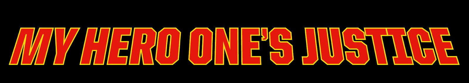 My Hero Academia: One's Justice se confirma para Europa y muestra logo