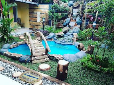 dekorasi kolam tebing sidoarjo