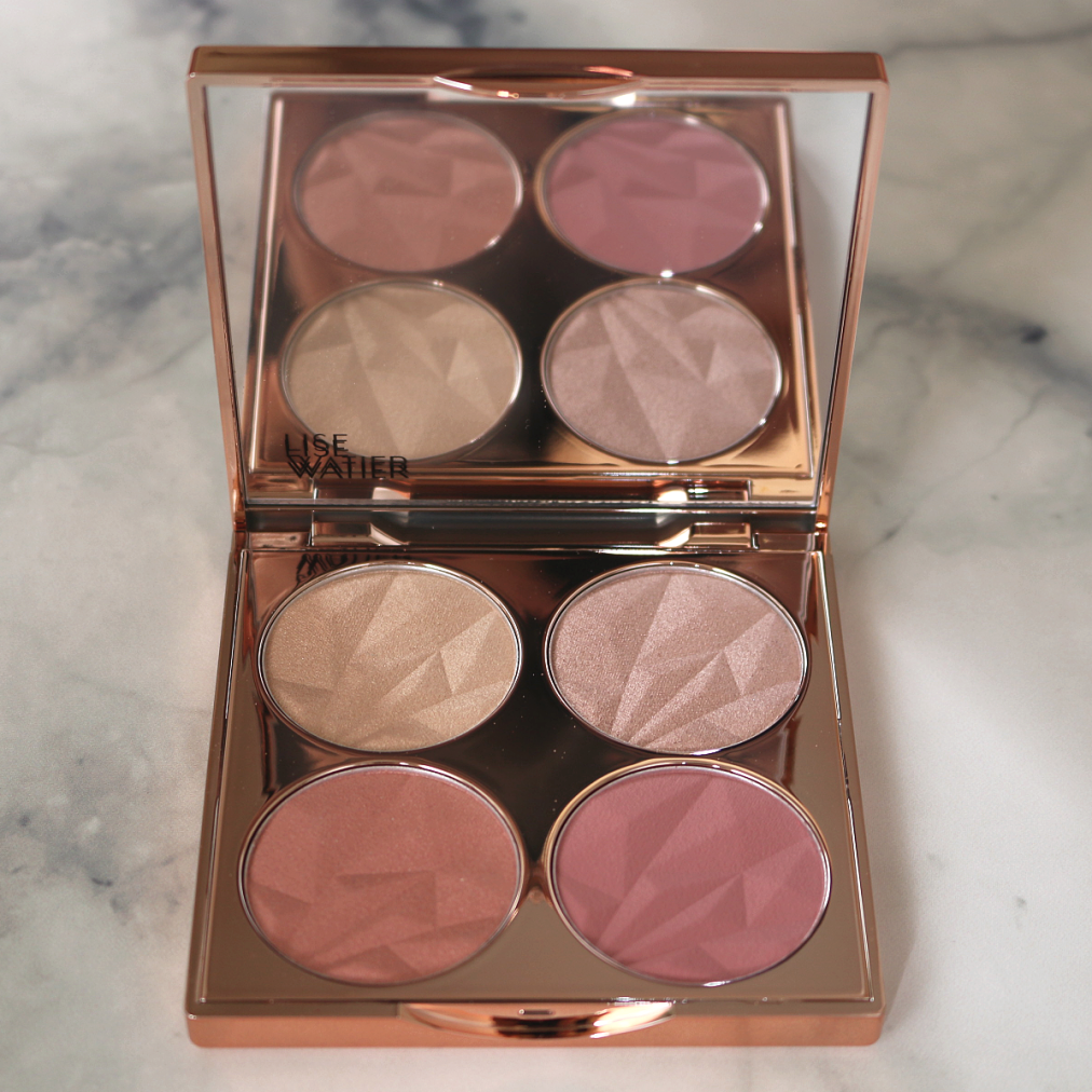 Lise Watier Blush & Glow Blush and Highlighter Palette