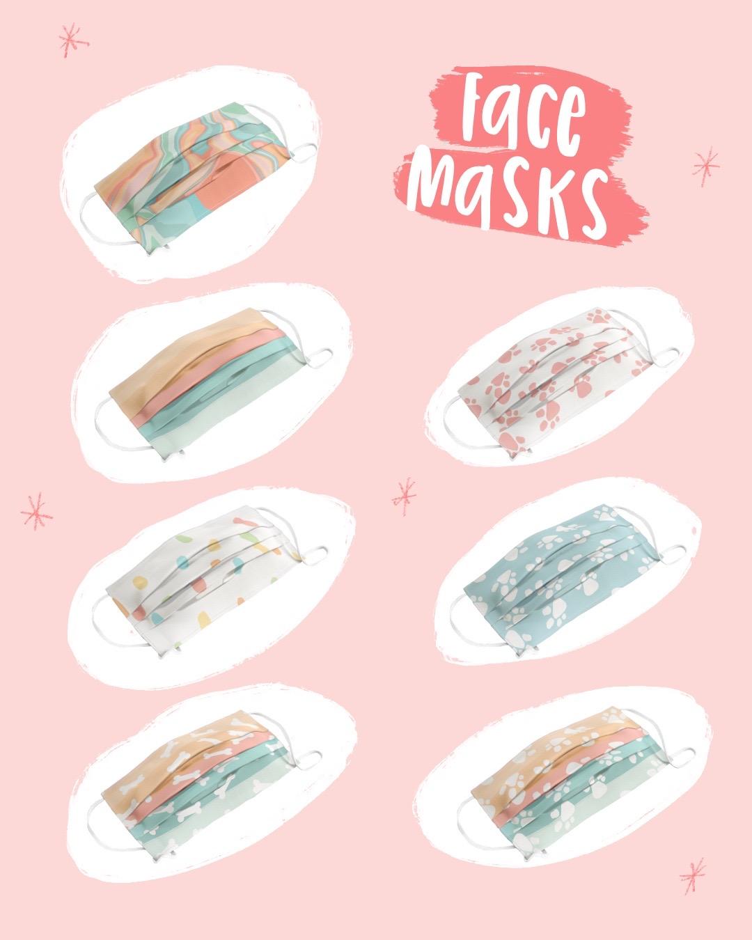 25 Sweetpeas Face Masks