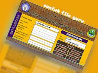 Buku Laporan SPJ BOS Dalam Bentuk Aplikasi dengan Format Excel