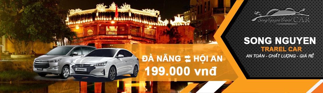 Thuê xe Đà Nẵng Hội An 1 chiều giá rẻ