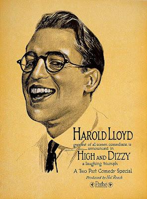 Póster película Harold, el nuevo doctor - High and Dizzy