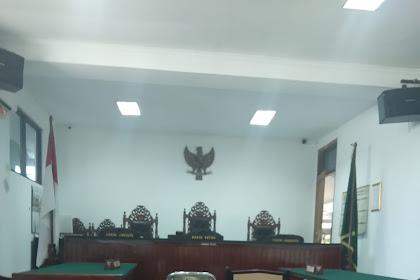 Sidang di Pengadilan Purwakarta Pada Kamis, 21 November 2019