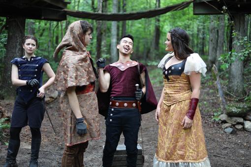 Robin Hood | Serenbe Playhouse | Photo: BreeAnne Clowdus