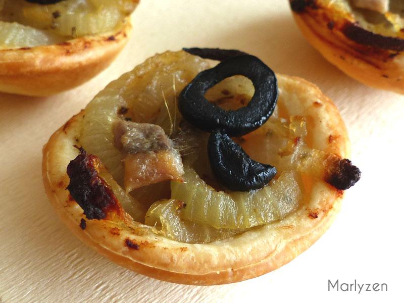 Mini pissaladière