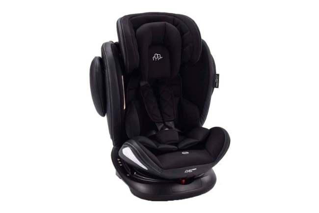Cadeira de Carro Multikids Softfix 360º BB627 - Preto