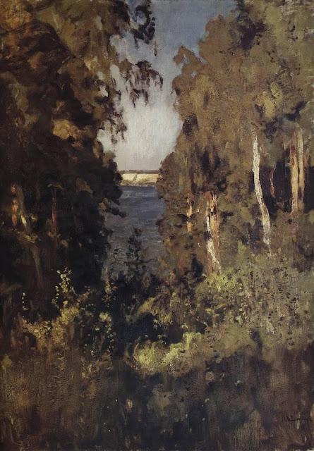 Исаак Ильич Левитан - Овраг. 1898
