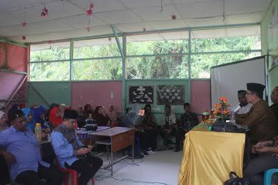 Kakankemenag Tanjungbalai Jadi Narasumber Sarasehan Wawasan Kebangsaan