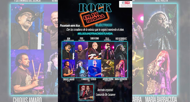 Rock en tu Idioma ofrecerá un concierto único vía Streaming