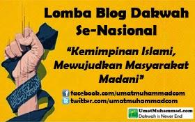 Lomba Blog Dakwah Se-Nasional UmatMuhammad.com