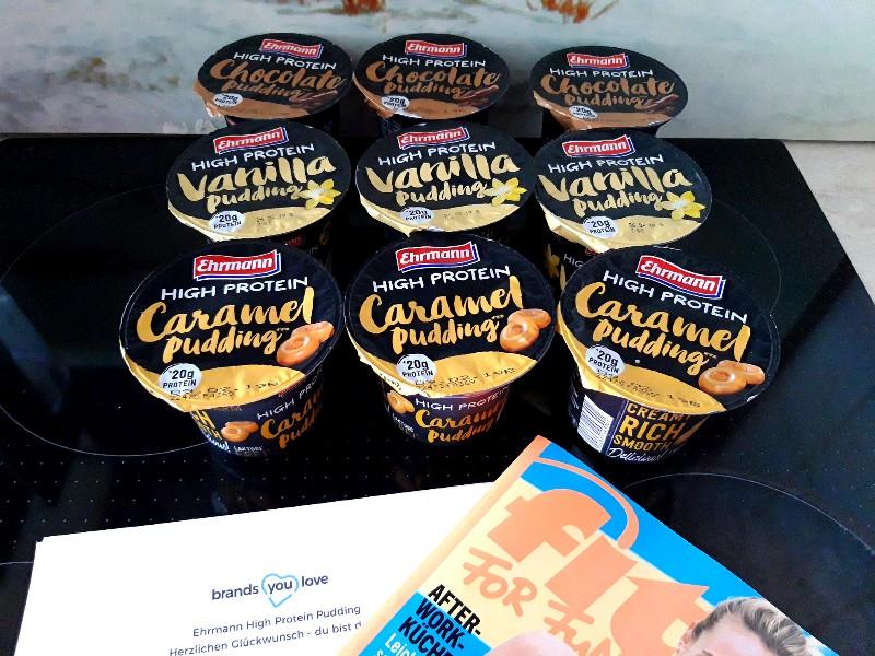 Ehrmann high protein pudding test