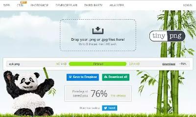 موقع ضغط صور مجاني TINYPNG