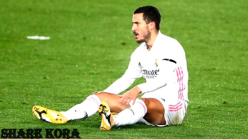 تعرف على اصابة هازارد الجديدة ، غياب هازارد عن ريال مدريد