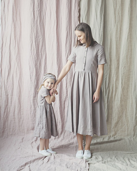 Beautifully slow fashion for you and your Little One.