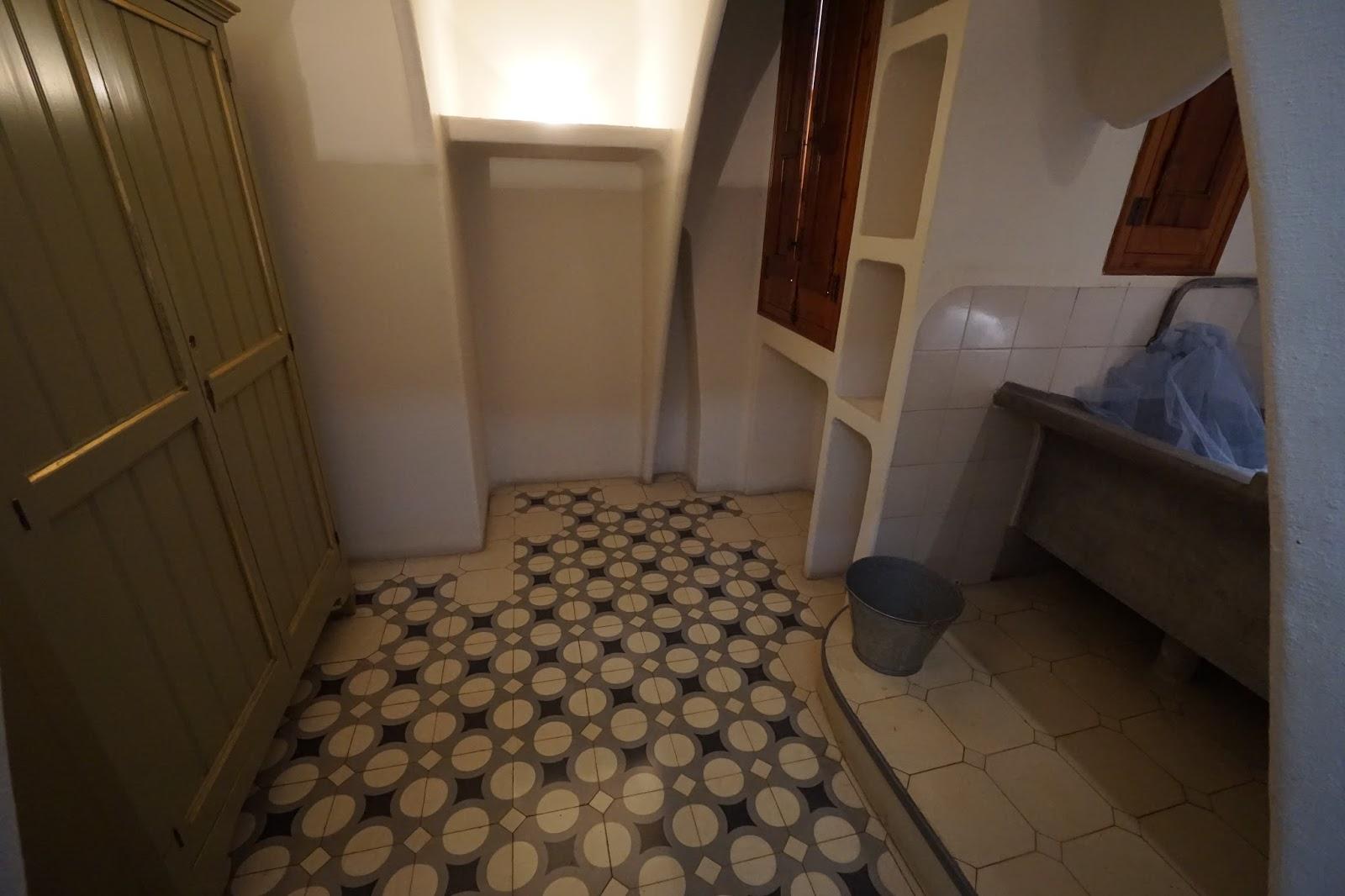 カサ・バトリョ(Casa Batlló) 洗濯室