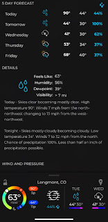 Cold Weather Forecast