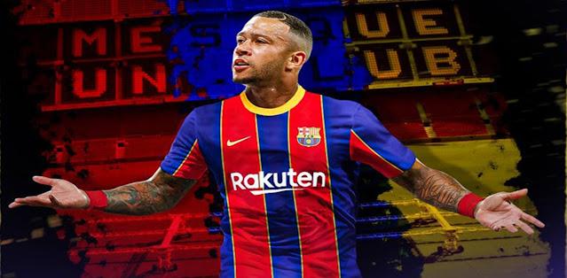 اقتراب ممفيس ديباي من الانتقال إلى برشلونة