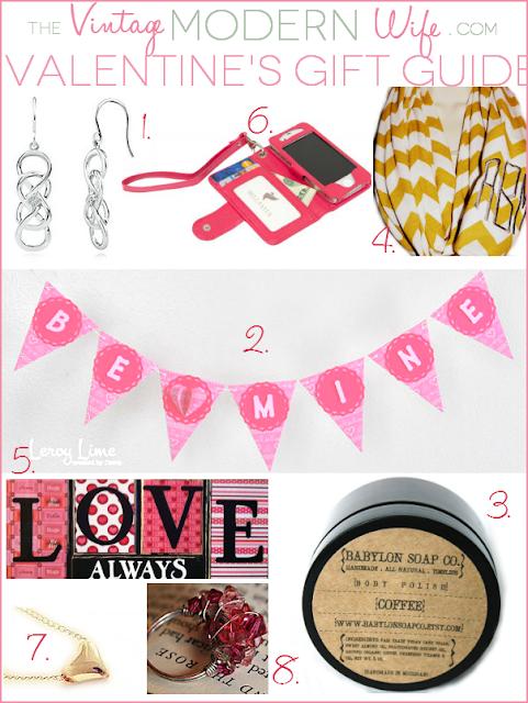 Valentine's Gift Guide - Vintage Modern Wife - LeroyLime