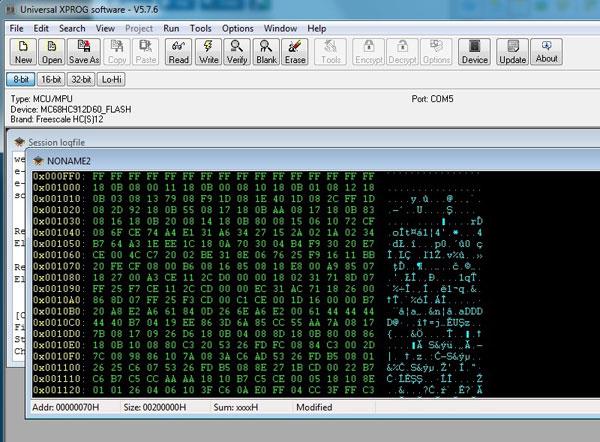 Xprog-5-76-read-HC912D60-2