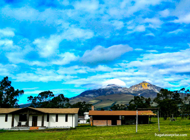 Equador, Montanhas Los Ilinizas