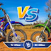 VIDEO - YAMAHA YZ 125cc  X  KAWASAKI  KX 100 cc  - QUAL LEVA A MELHOR?