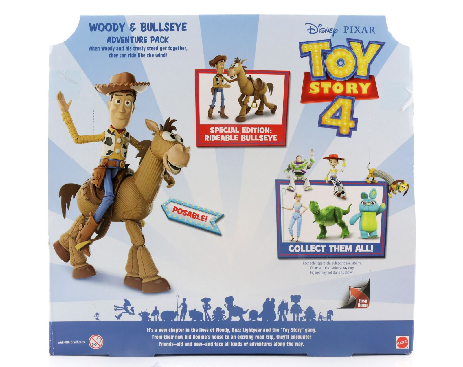 toy story 4 woody bullseye 2-pack