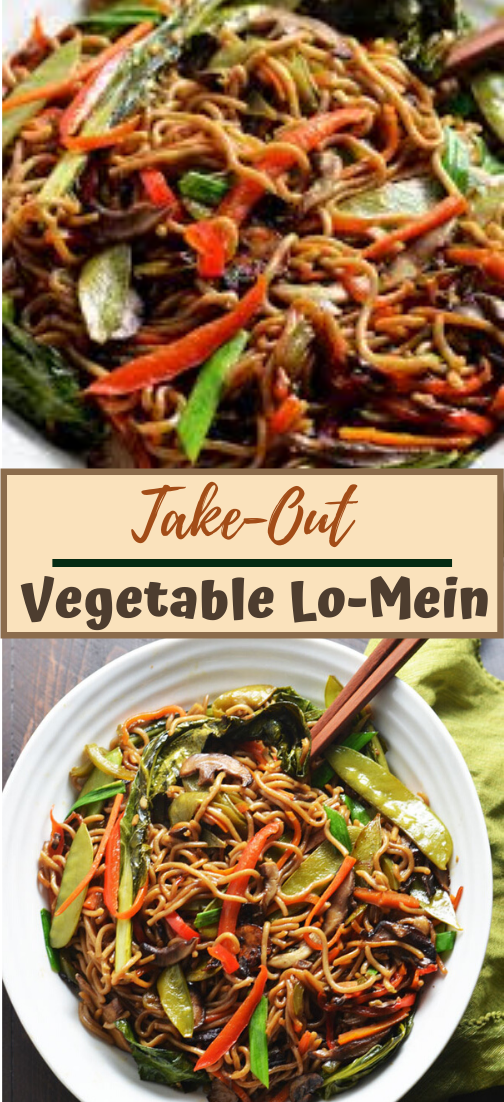Take-Out Vegetable Lo-Mein #vegan #vegetarian #soup #breakfast #lunch
