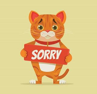Ucapan Maaf
