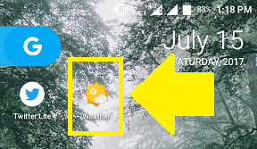 How To Add Google Weather Shortcut,Weather Widget To Home Screen Of