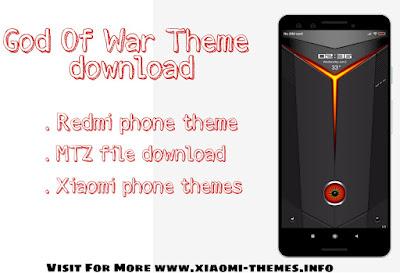 God of war theme download